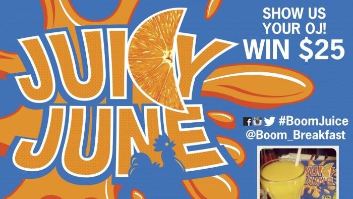 Boom Juicy June Win